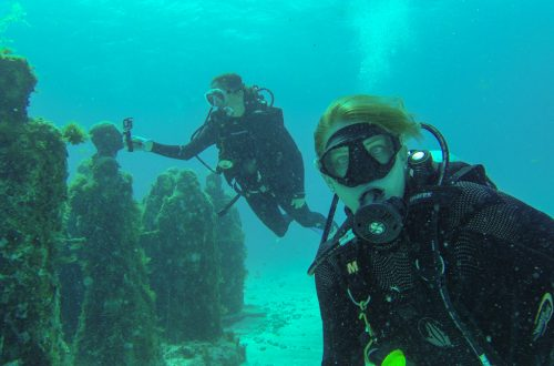 Scuba Diving Cancun Header
