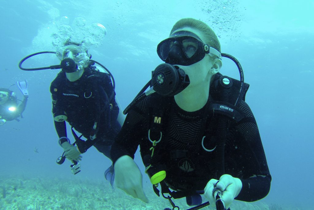 Scuba Diving with Celine
