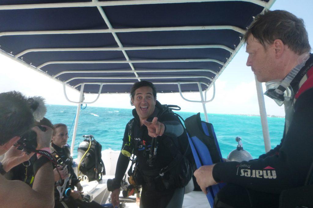 Luis my dive master