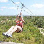 Ziplining at Jungle Maya Cancun