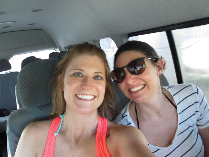 Driving to Jungle Maya Cancun