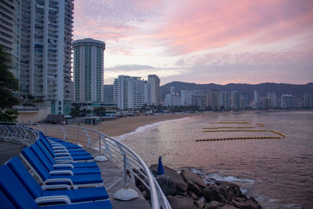 Sunrise in Acapulco
