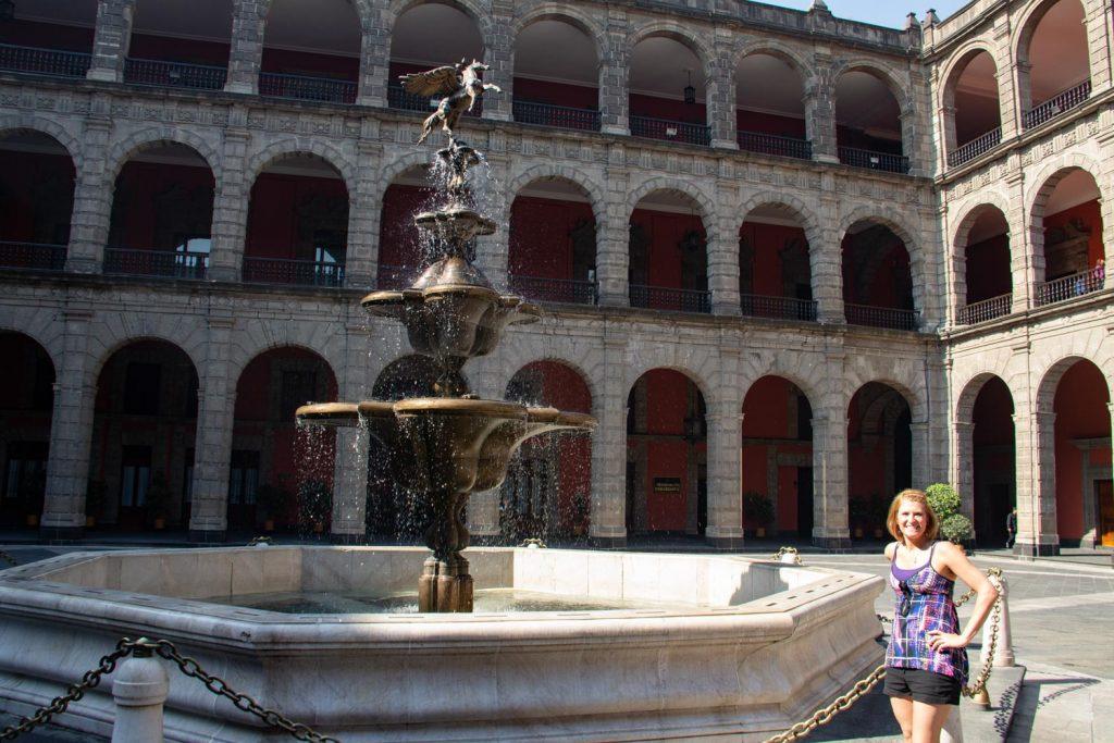 National Palace Mexico City