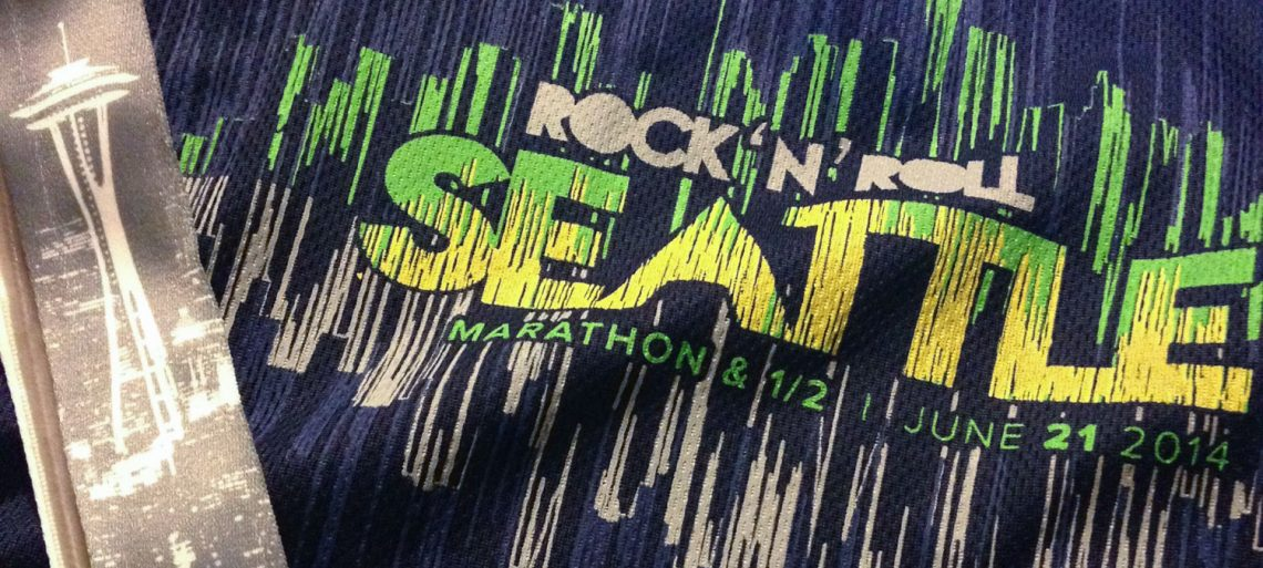 Seattle Rock n Roll Half Marathon