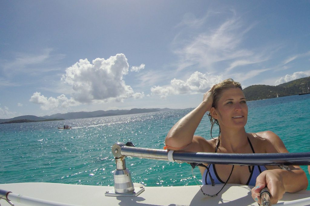 Boating the BVIs