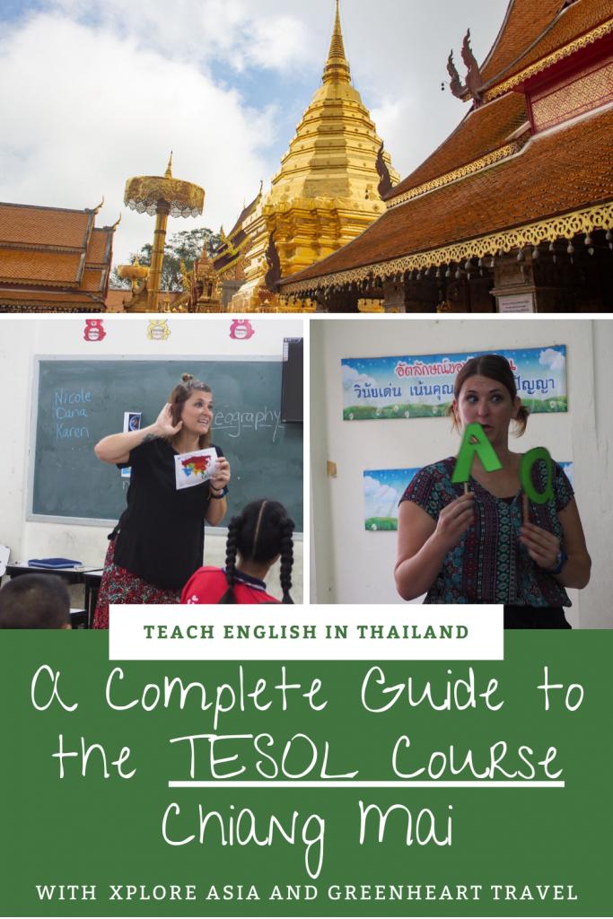 Pin Me TESOL Chiang Mai