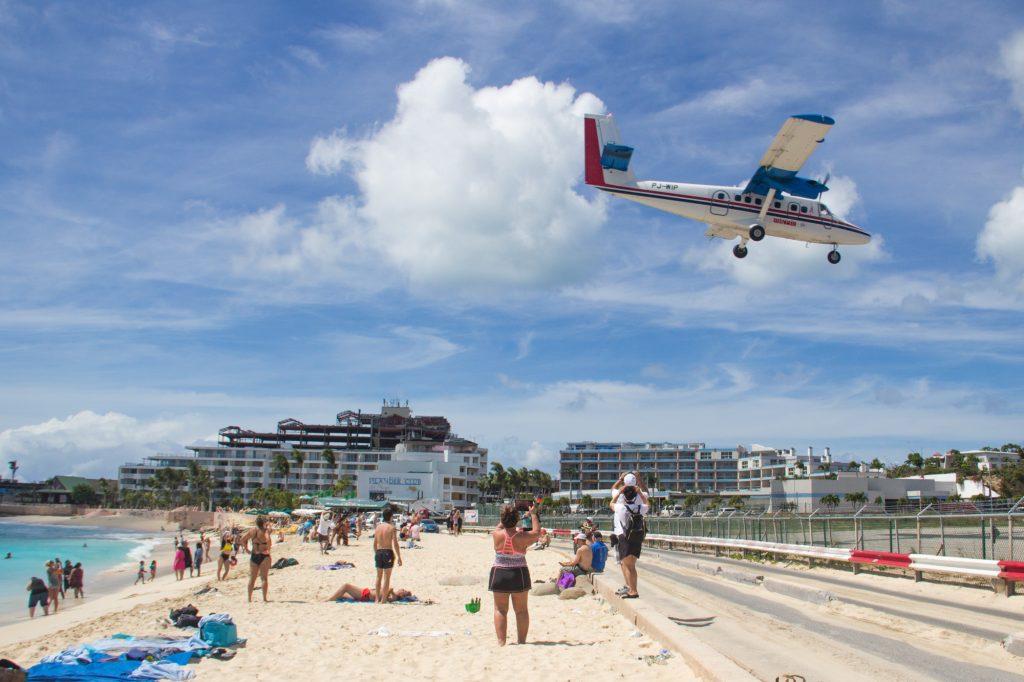 St Martin Maho Beach