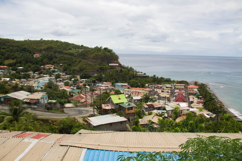 small town St Lucia