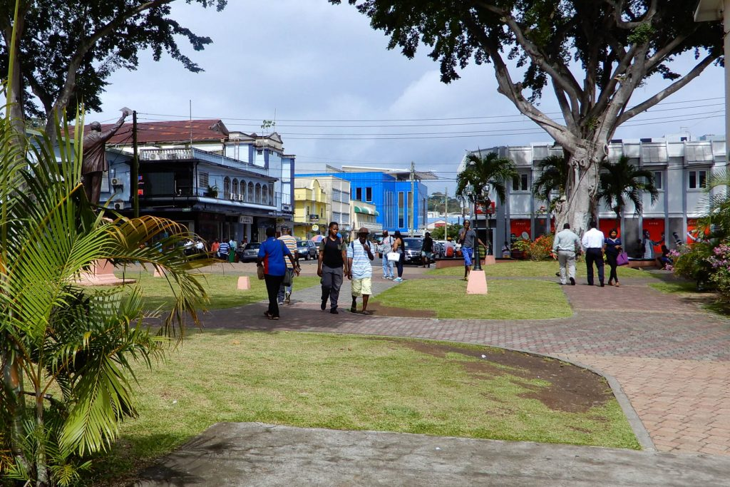 Downtown Castries
