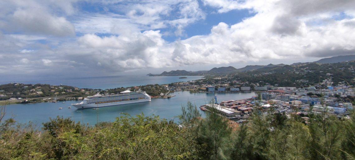 St Lucia Port