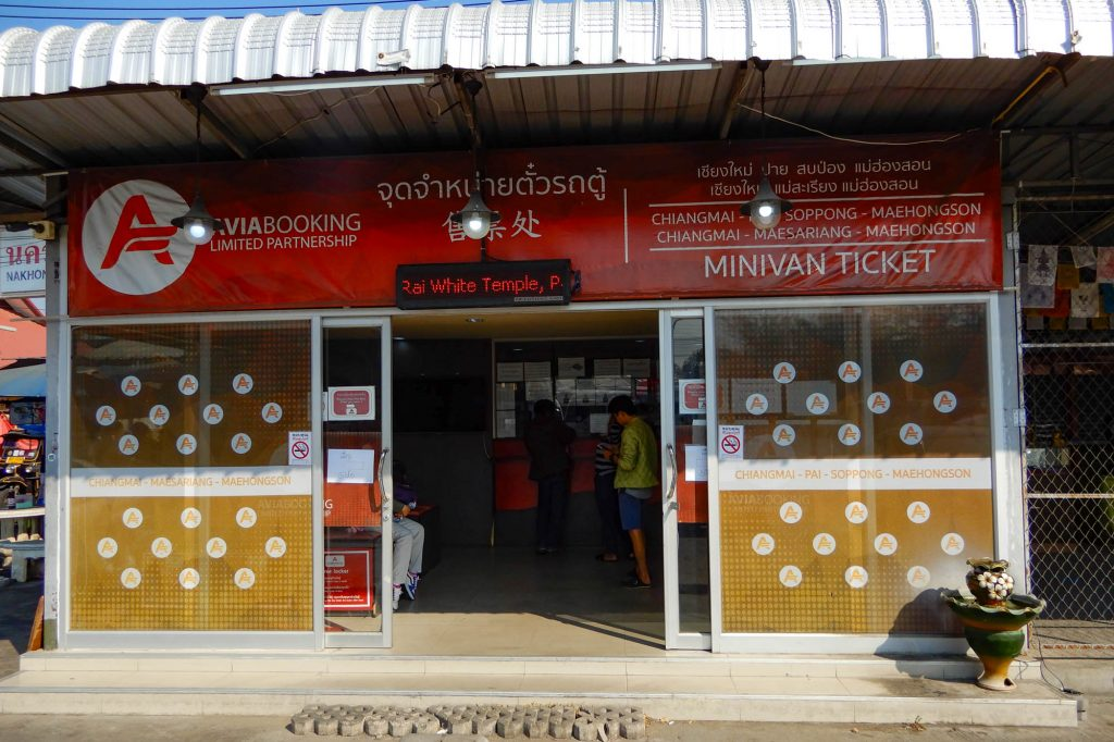 Bus Terminal in Chiang Mai