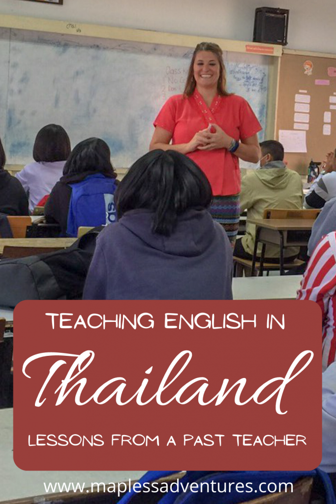 Teaching English Lessons Pin