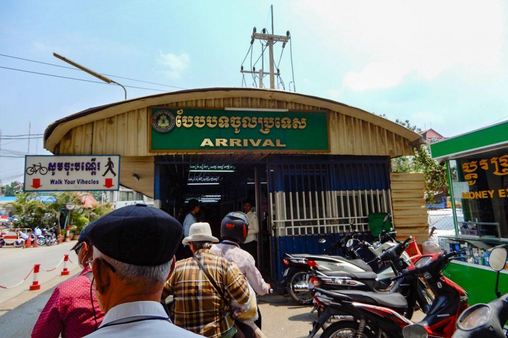 Border Thailand to Cambodia