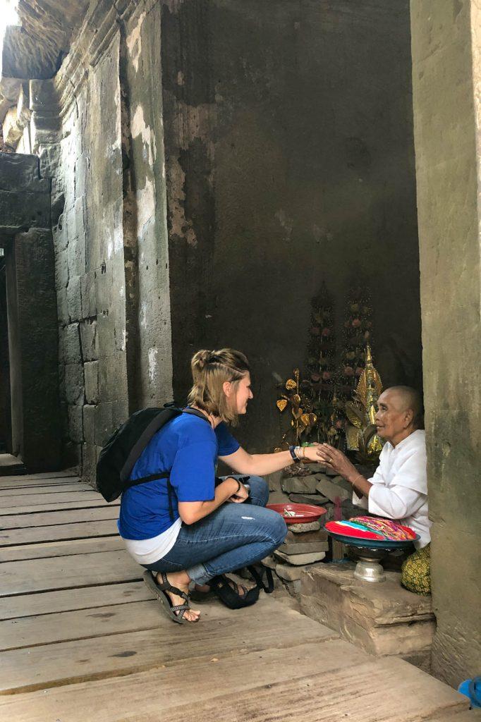 Candid Photo at Angkor Wat