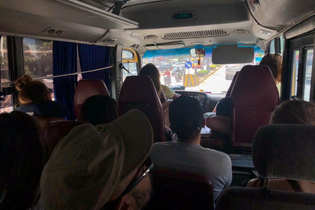 Local Bus from Kampot to Sihnoukville
