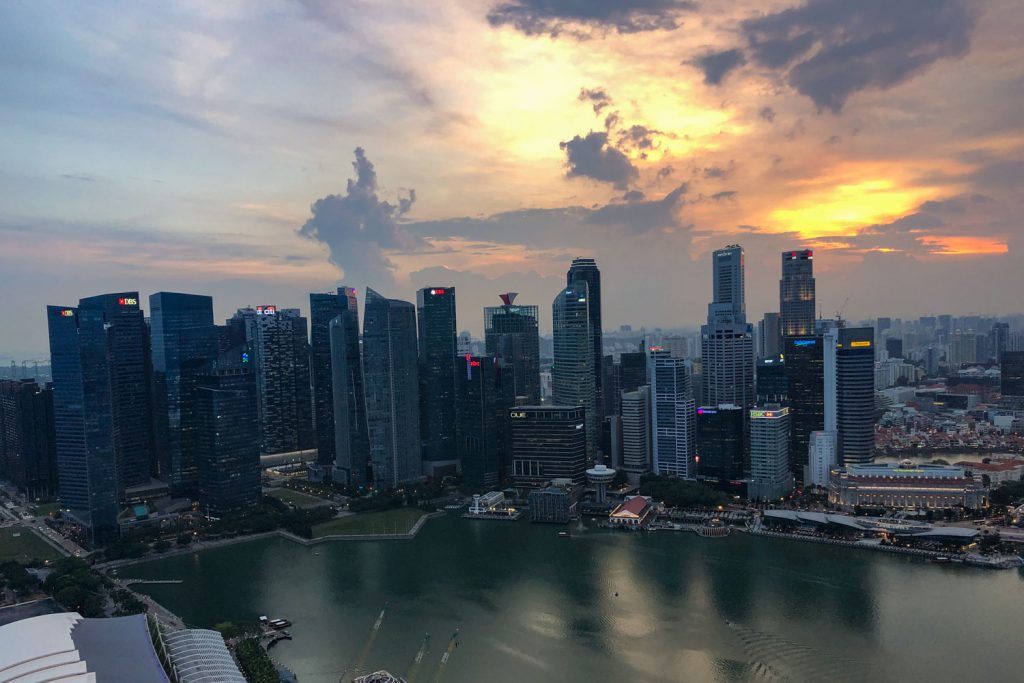 3 Days in Singapore Skydeck