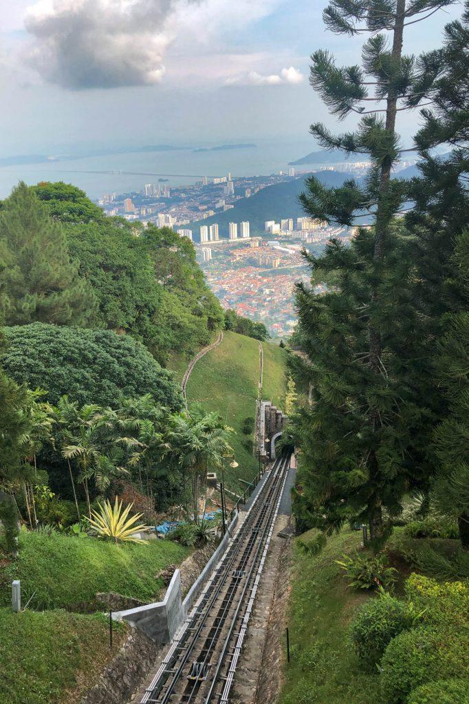 Monorail Up Penang Hill