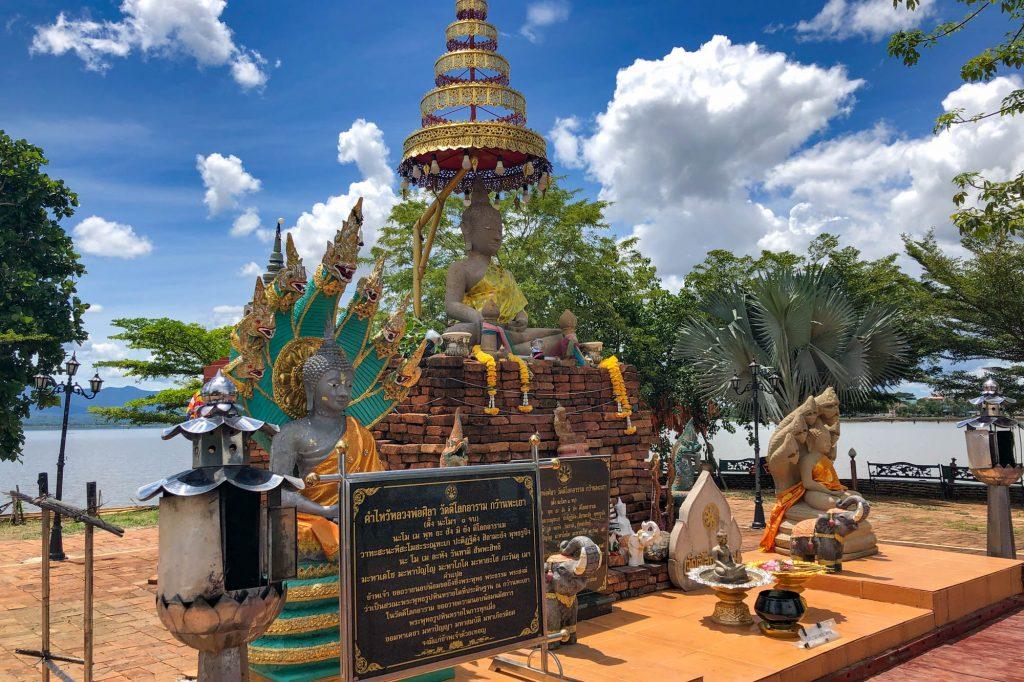 Wat Tilok Aram Lake Phayao