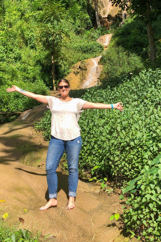 Tan Tong Waterfall Phayao Thailand