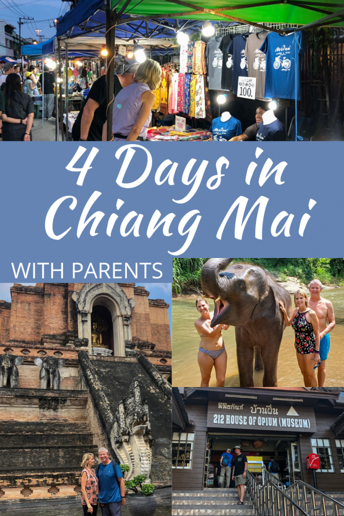4 Days in Chiang Mai PIN ME