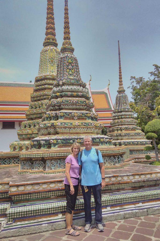 Parents at Wat Arun