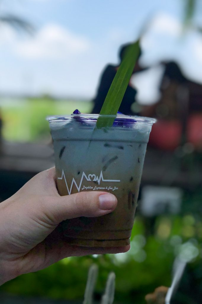 What to Drink in Thailand- Butterfly Cafe Latte