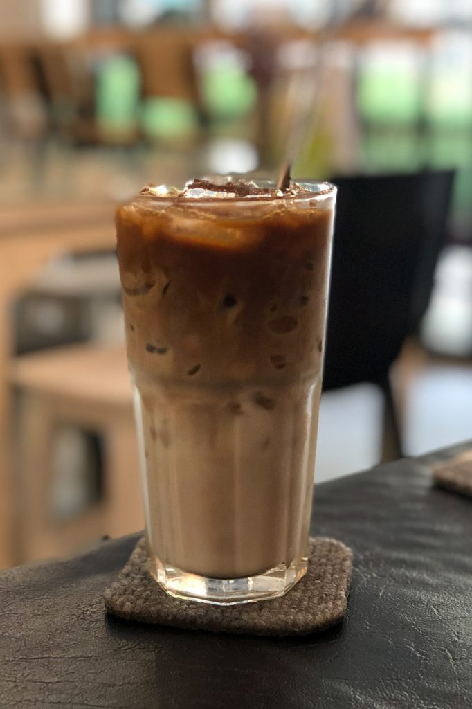 What to Drink in Thailand- Iced Latte