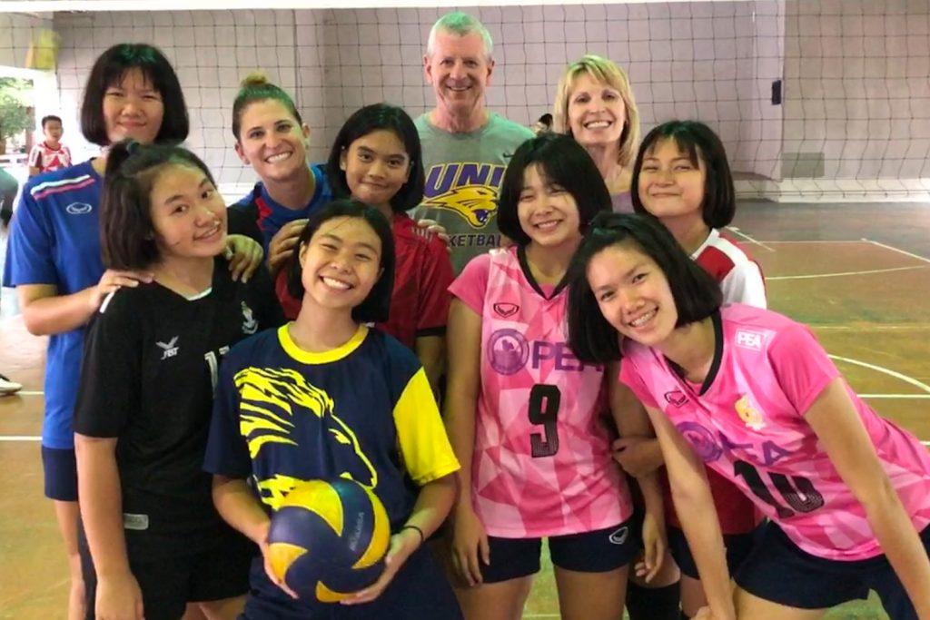 Meeting my Volleyball Girls