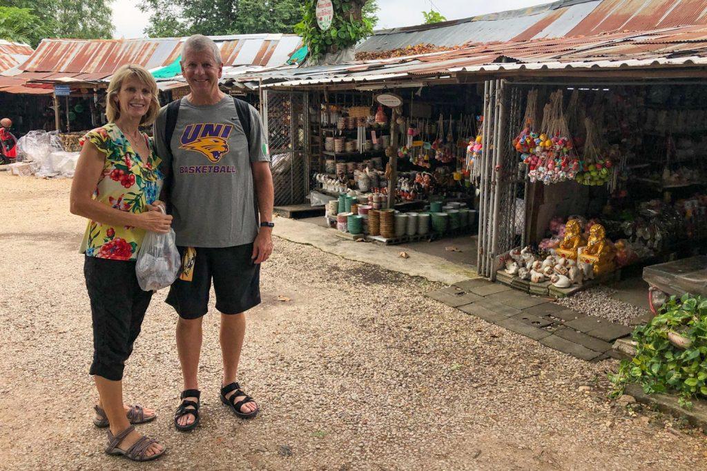 Ceramics Market in Lampang