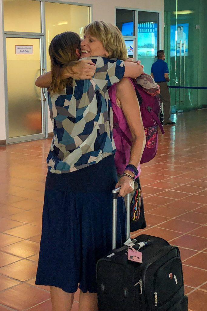 Hugging Parents in Lampang