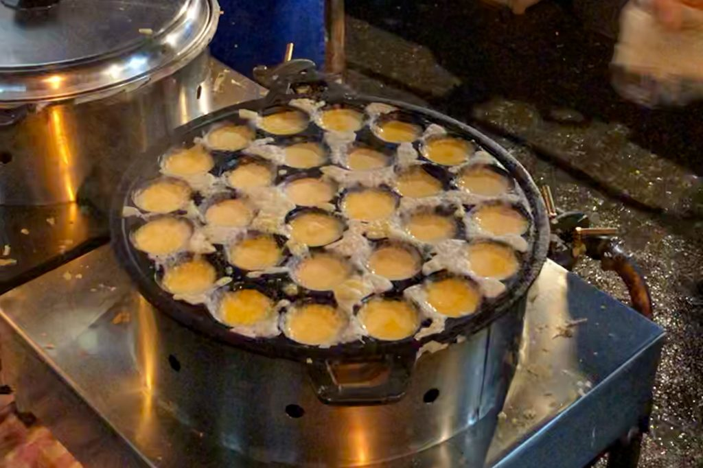 What to Eat in Thailand - Coconut Pancakes