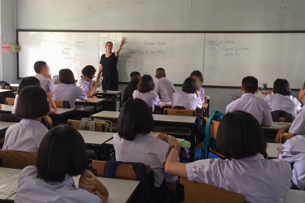 Questions Teaching English in Thailand