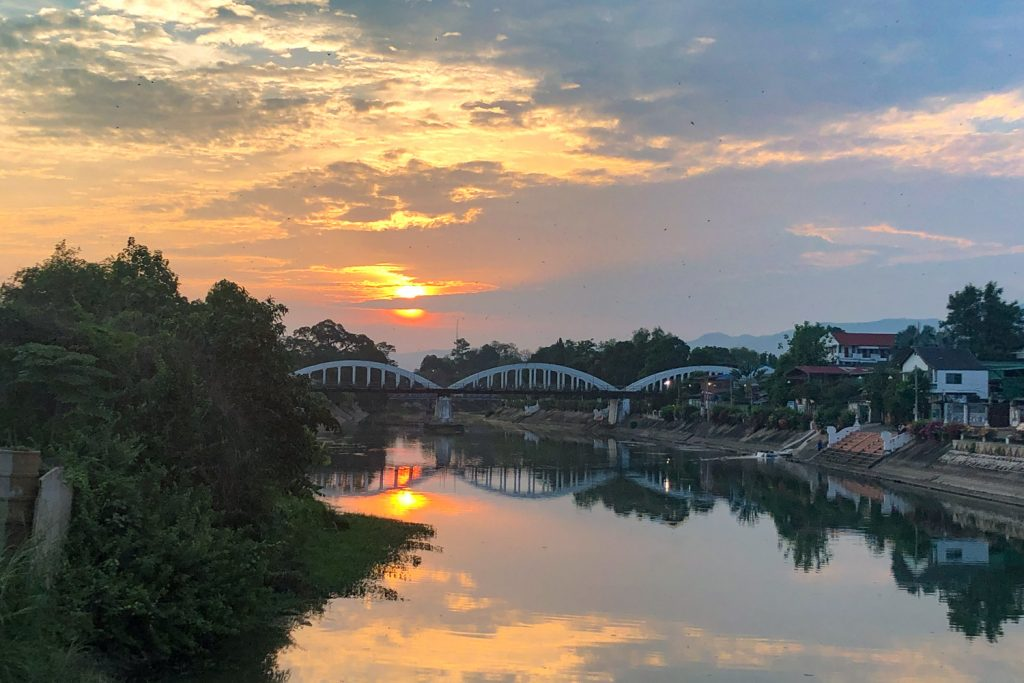 My town in Thailand; Lampang