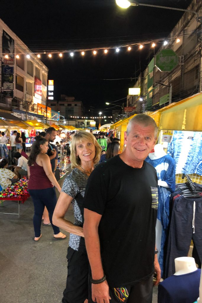 Shopping at the Krabi Market