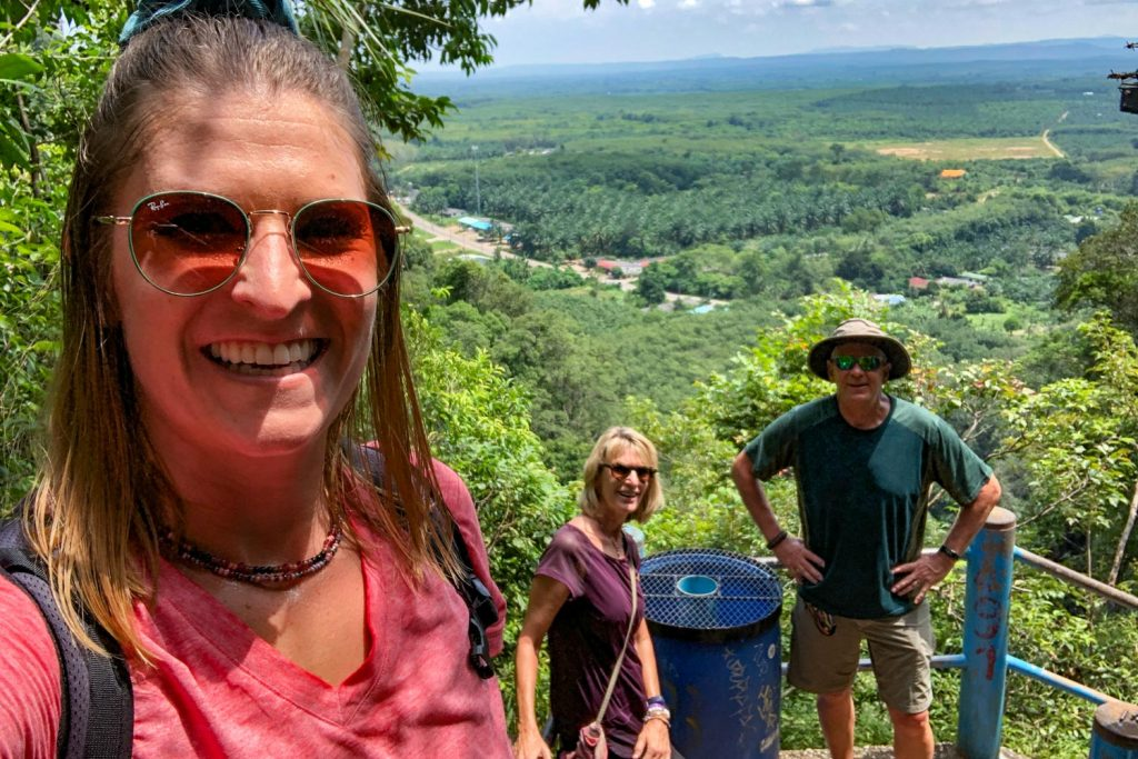 Hiking Tiger Cave Temple